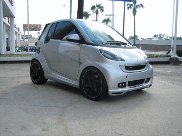 Mercedes Benz Smart Brabus Edition