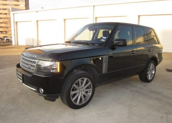 Jeff Bagwell's Range Rover Supercharged