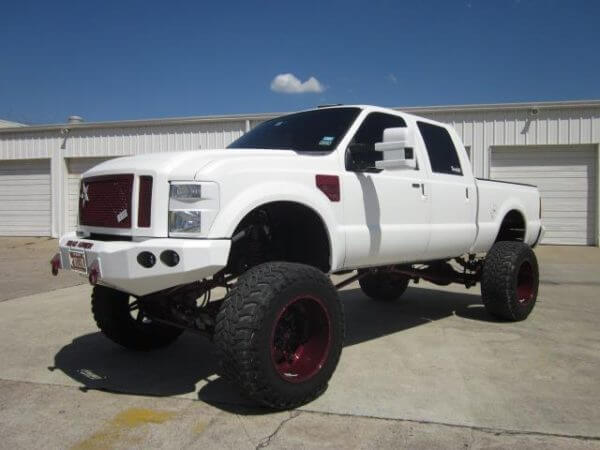 Ford F250 Show Truck